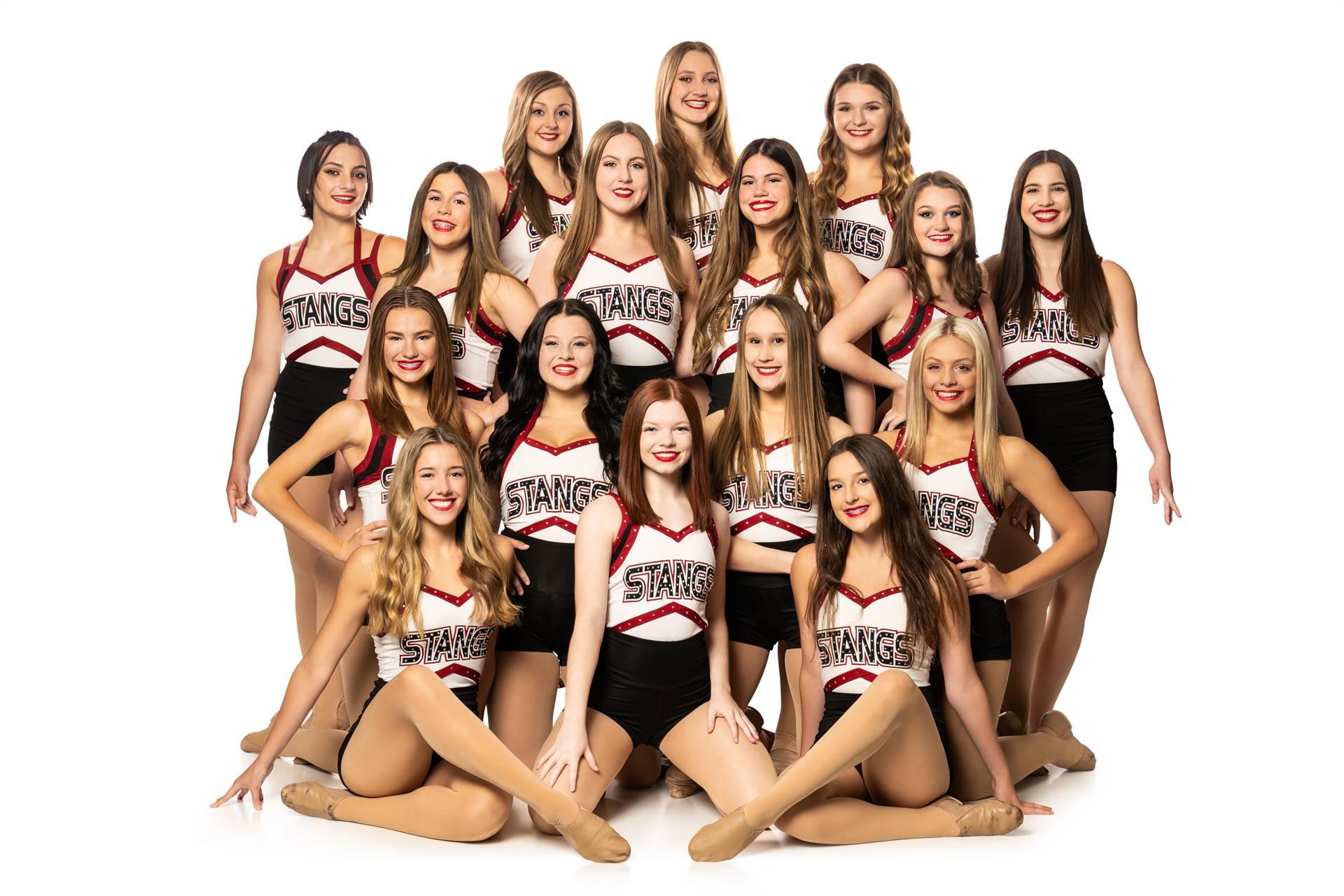 2021-22 Mustangs Dance Team