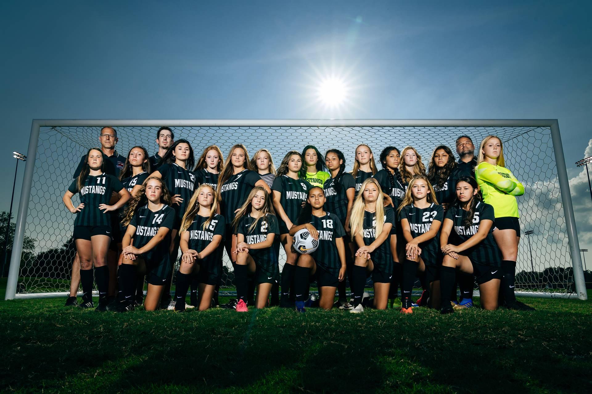 2021-22 Mustangs Women's Varsity Soccer