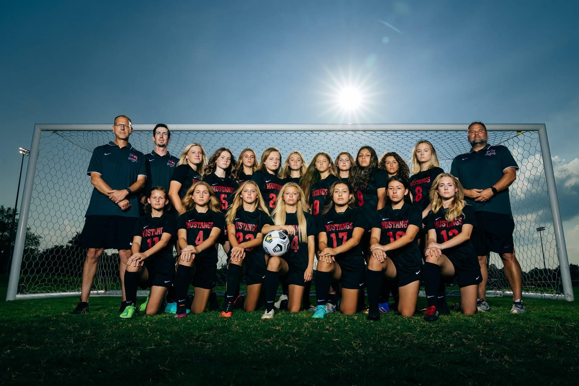2021-22 Mustangs Women's JV Soccer