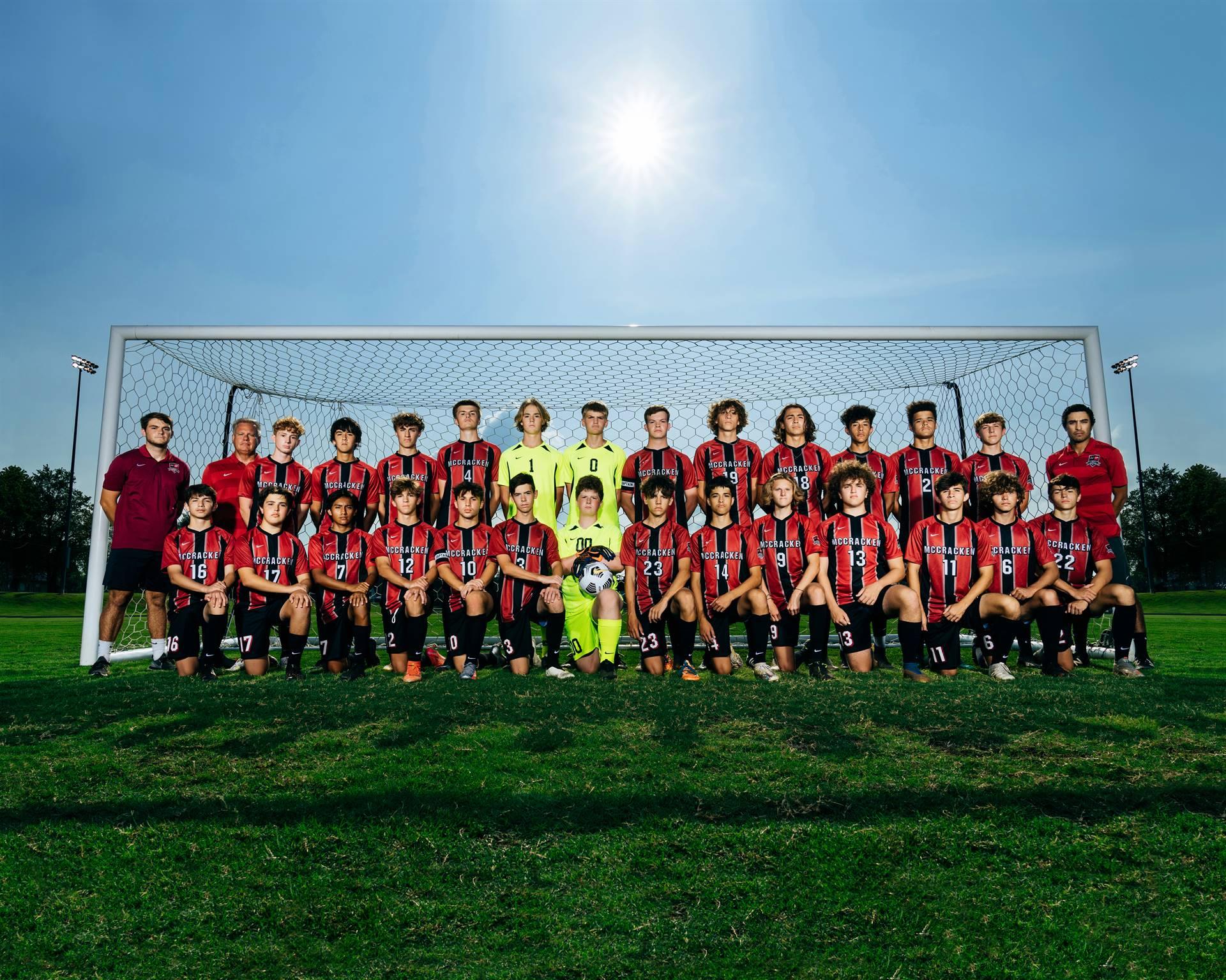 2021-22 Mustangs Men's Varsity Soccer