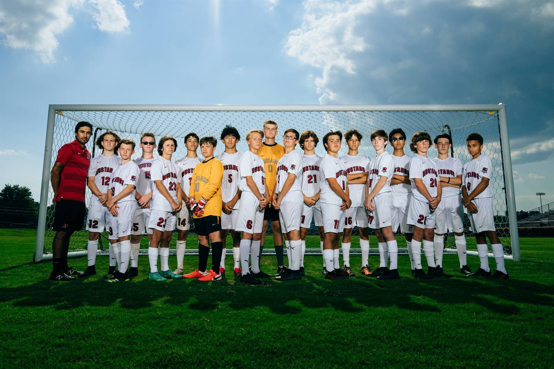 2021-22 Mustangs Men's JV Soccer