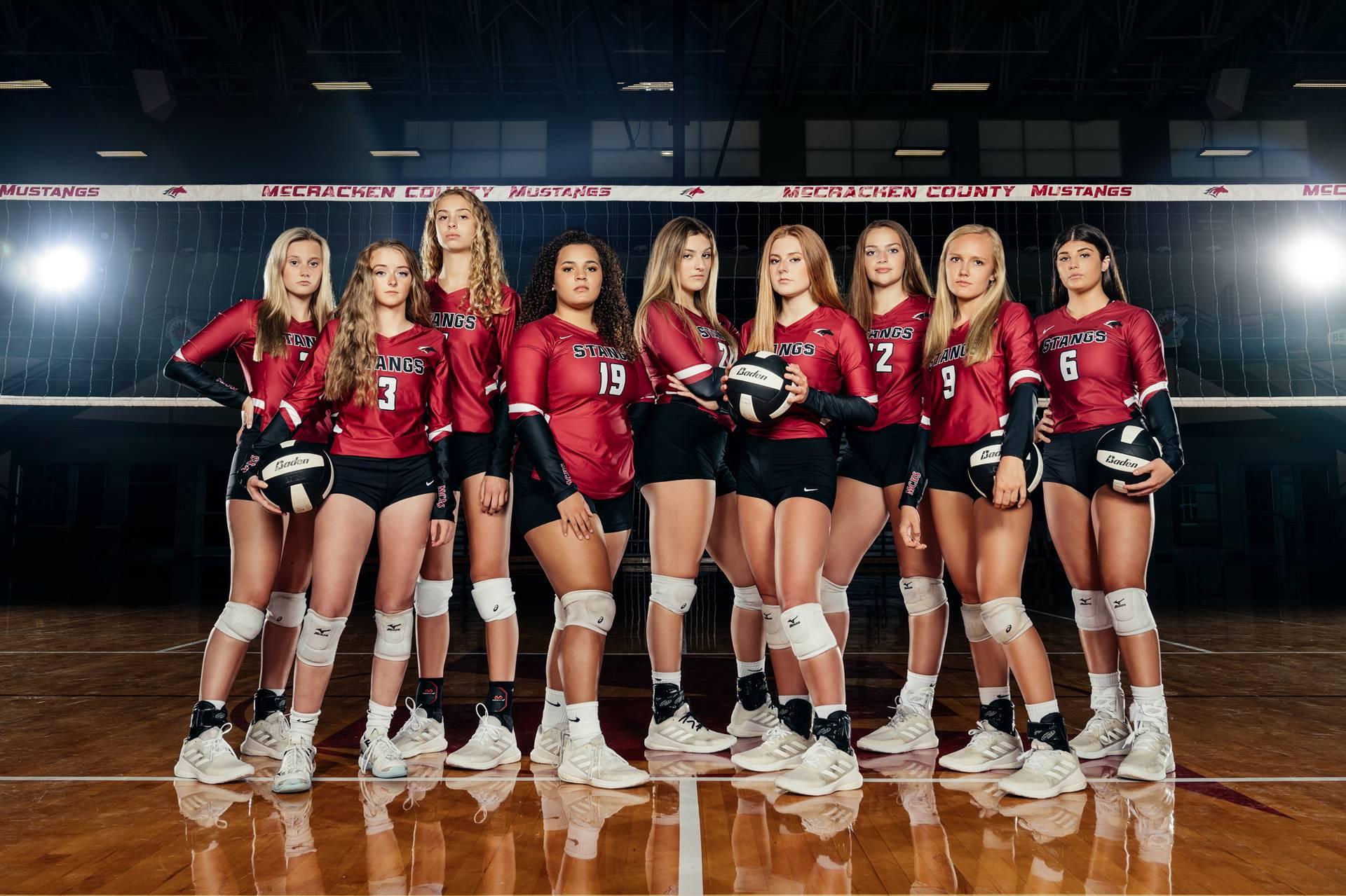 2021-22 Mustangs Varsity Volleyball
