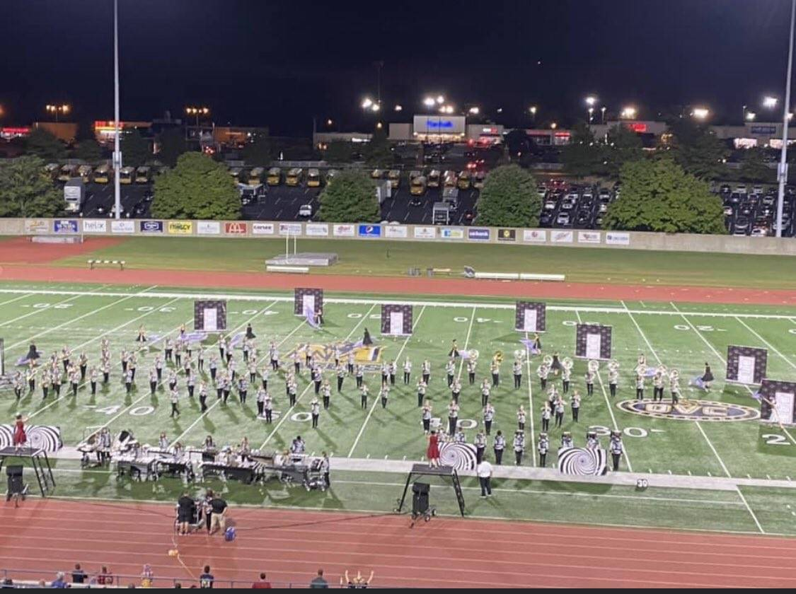 Mustang Marching Band @ Murray State Festival of Champions